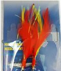 Fishing 2Hook Fly RockFish Rigs 3/0 4/0 5/0 7/0 Yellow Red Feather Cod Baits New
