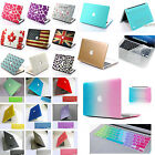 for NEW Macbook Pro 13 15 retina/Rubberized Hard Case+silicone keyboard cover ca