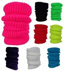 BB ACCESSORIES PLAIN KNITTED LEGWARMERS Available in 8 COLOURS