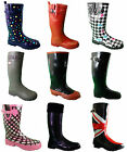 LADIES FUNKY WELLIES BOOTS WOMENS GIRLS V FESTIVAL SIZE 3 4 5 6 7 8 CREAMFIELDS