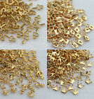 20 PCS 3D Metal Alloy Nail Art Rhinestones Decorations DIY Studs Decals Tips