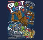 Guardians of The Galaxy Groot Loops NEW Ript shirt movie Star Lord Thanos Rocket