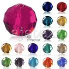 100x 6mm Glass Crystal Disco Ball Spacer Loose Beads Craft Jewellery Making 5003