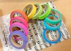 10xScrapbooking DIY  Rainbow Washi Sticky Paper Masking Adhesive Decorative Tape