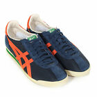 Onitsuka Tiger Men's Corsair Vintage Suede / Mesh Trainer Navy / Orange