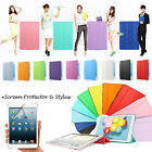 For New iPad 2/3/4 Gen Magnetic PU Leather Ultra Slim Smart Cover Hard Back Case