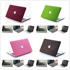 4in1 Solid Rubberized Hard cover Case FOR 2010-2014 New Macbook Pro 13 15 retina