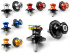 CNC 6 Color 8MM Swingarm Sliders Spools For Honda CBR600F3 600F4 600F4i US Stock