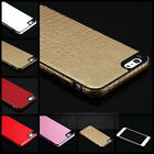 "Luxury Soft TPU PU Leather Back Cover Fitted Case Skin for Apple iPhone 6 (4.7"")"
