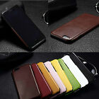 Thin Luxury Leather Case PU Cover for iPhone 6/6S 4.7 Hard Back Skin Case Cover