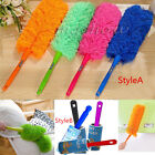Soft Microfiber Cleaning Duster Dust Cleaner Handle Feather Static Anti Magic