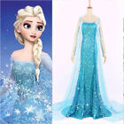 Купить Frozen Elsa Queen Sexy Lady Adult Women Evening Party Dress Costume Elsa Dresses с доставкой по россии и снг