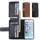 """New Luxury Leather Flip Wallet Case Card Slots Cover For iphone 6 4.7"""" Plus 5.5"""""""