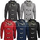 Mens Raiken Bailey Toggle Button Hoody Hooded Sweatshirt Top Mens Size