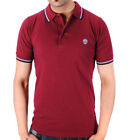 mens Raiken My First Twin Tipped Casual Polo Shirt Top Size