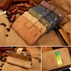 Cowhide Real Leather Flip Stand Wallet Case Cover For Apple iPhone 6 5 5c 5s