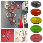 Circles Stickers - 5 Rings 3D Wall Art Decoration Home Decor Removable Stickers