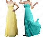 2014 New Shinning Wedding Bridesmaid Formal Prom Gowns Long Dress Ball Cocktaill