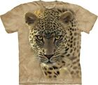 On The Prowl Leopard Mens Animal T-Shirt by The Mountain - Free Postage! NEW