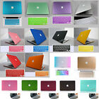 "18color Rubberized Hard Case For new Macbook AIR 11""11.6 13""13.3 2010-2014 +gift"