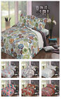 SUPERSOFT DESIGN BEDSPREAD WITH PILLOW SHAMS KING SIZE BED DUVET QUILT THROW
