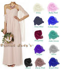 Chiffon Bridal Bridesmaid Wedding/Prom Shawl/Stole/Wrap/Bolero/Sash/Cover Up