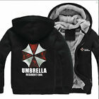 HOT GAME Resident Evil Umbrella Hooded Sweatshirt Cosplay Hoodie Jacket Coat
