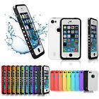 Newest Waterproof Dirtproof Shockproof Durable Case Cover For Apple Iphone 5c