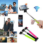 Selfie Monopod Stick Bluetooth Built-in Shutter For iPhone 3/4/5/5C/5S/6/6 Plus