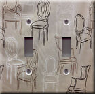 Light Switch Plate Cover - Different kitchen chair - Furniture model dining room