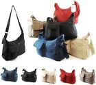 LADIES EXTRA LIGHTWEIGHT DURABLE TOTE SHOULDER BAG 2 ZIP COMPARTMENTS LONG STRAP