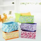 Storage Bags 5 Colors Korean Floweret multifunction fold Cosmetic Storage Box