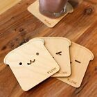 Coasters 3 Model Creative home Lovely Bear wooden Nonslip Drinks Coasters  A208