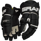 "Graf G15 Ice/Roller Hockey gloves BNWT 9"" -15"" Black/White or Black/Red"