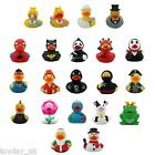 Character Funky Collectable Rubber Duck Super Hero Ducks Secret Santa Bath Duck