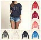 New Hollister by Abercrombie Women Hammerland Hoodie sweat shirt Zip Up All size