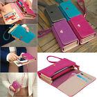 New Multifunctional Clutch Wallet Purse Phone Case for iPhone 4 4S 5 5S Samsung