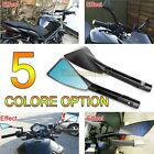 5 color Universal Rearview CNC Billet Mirrors For Ducati Monster 600 750 900