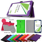 """Premium PU Leather Folio Case Cover Stand For Acer Iconia Tab 8 A1-840 8"""" Tablet"""