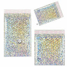 Shiny Metallic Holographic Bubble Wrap Padded Mailing Envelopes Bags STUNNING