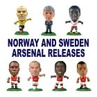 ARSENAL Norway and Sweden Release MicroStars - Choose from 8 different figure