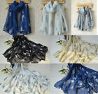 Ladies Long Cat Print Scarves Scarf Shawl Sarong, choice of colours Ladies gift