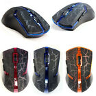 1pcs 2.4GHz Optical Wireless Mouse/Mice + USB 2.0 Receiver For PC Laptop RF6110