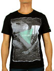 Oxygen Men's Designer Tee Shirt in Black(S,M,L,XL,2XL,  3XL and 4XL) RRP $49.95