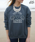 This Girl Loves Christmas Jumper Sweater Top Fashion Gift Funny Present Winter