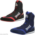 NEW LONSDALE MENS MITCHUM PRO BOXER LIGHTWEIGHT LACE UP MESH UPPER BOXING BOOTS