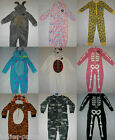 Primark Girls Kids Halloween Cotton All In One Sleep Suit Footed Pyjamas  2 - 13