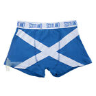 MEN'S FASHION BOXER SHORTS - SOFT COTTON - SCOTTISH SALTIRE - SIZE OPTIONS!