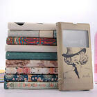 Fashion Watercolor Flip Leather Wallet Case Cover For Sony Xperia Z L36h C6603