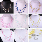 Choose Color Nugget Multicolor Freshwater Pearl Bead Choker Starriness Necklace
